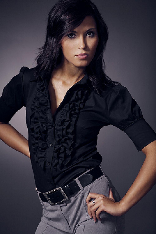 4d56b498fdfb Dámska košeľa model 20161 Nife Dámská móda