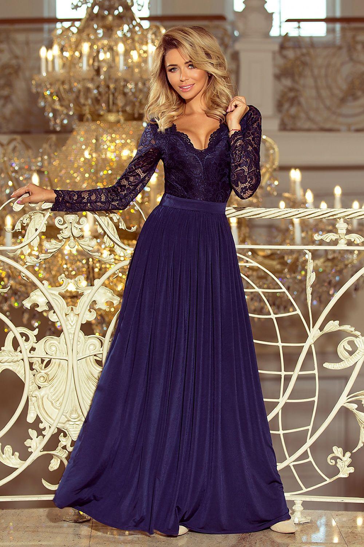 31b499831b1c Dlhé šaty model 122760 Numoco Dámská móda