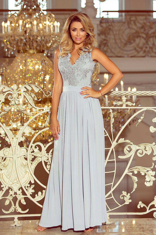 3b5c4a34845a Dlhé šaty model 123490 Numoco Dámská móda