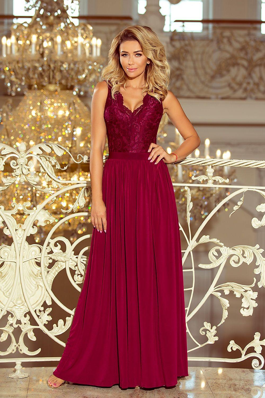 009d91ae38ae Dlhé šaty model 124387 Numoco Dámská móda