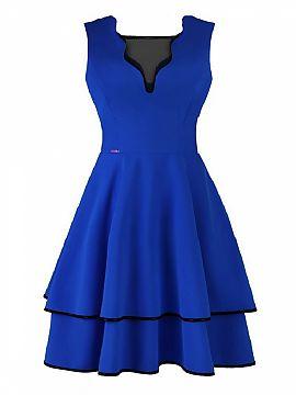 016d4aa5bbc3 Veľkosť 54 Večerné šaty - Elegantný Rekla Matterhorn Moda