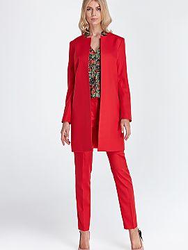 Farba Czerwony Dámske Bundy - Elegantný a mód Matterhorn Moda 21d81579dac