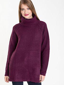 344fd0cdacdd Farba Fioletowy Zimné svetre 2019 Dámská móda