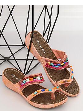 8a1d5e36c8dc Farba Różowy Dámske sandále - rímske ženy