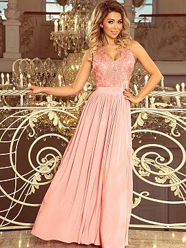 50ac1e3fca23 Farba Różowy Večerné šaty - Elegantný Rekla Matterhorn Moda